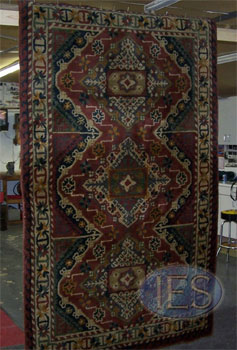 Oriental Rug Cleaning/Drying Process (In Shop)
