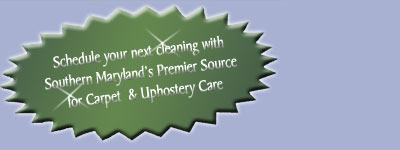 Carpet cleaning services Southern Maryland