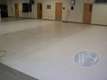 VCT during cleaning process