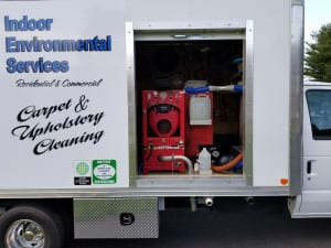 floor cleaning company truck