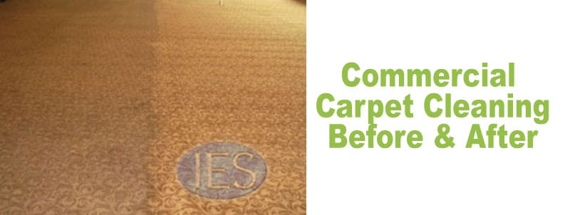 commercial carpet cleaning before and after