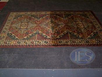 Oriental Rug 1:2 soiled, 1:2 cleaned - Calvert County Dunkirk Maryland
