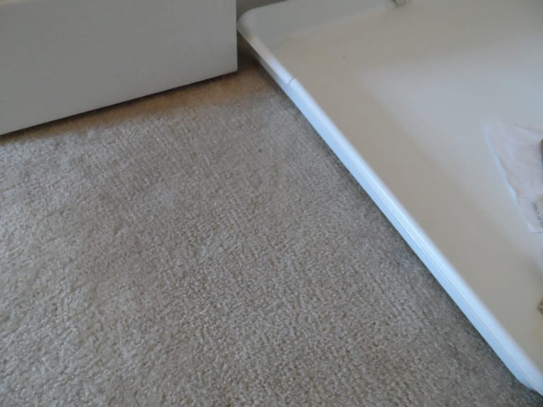 After:  Repair completed with donor carpet
