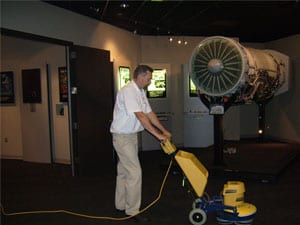 Technician-using-Cimex-Low-Moisture-Carpet-Cleaning-Machine
